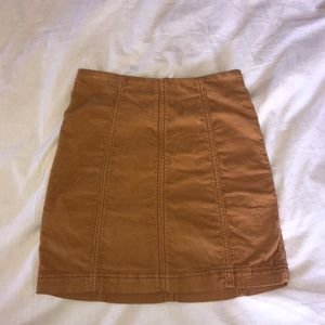 corduroy skirt from free people